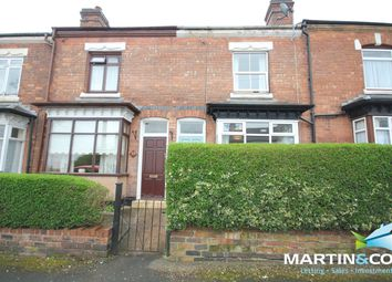 Thumbnail 2 bed terraced house to rent in Station Road, Harborne