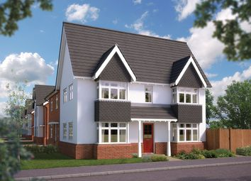 "Thumbnail 3 bed semi-detached house for sale in ""The Sheringham"" at Blunsdon, Swindon"