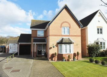 Thumbnail 4 bedroom detached house for sale in Quinnell Way, Parkhill, Lowestoft
