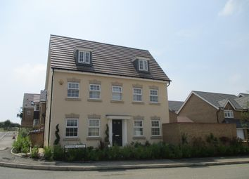 Thumbnail 5 bed detached house for sale in Pennine Close, Corby