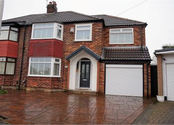 Thumbnail 5 bed semi-detached house for sale in Davies Avenue, Heald Green