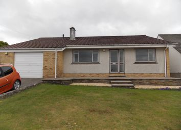 Thumbnail 3 bed bungalow to rent in Trelavour Road, St Dennis, Cornwall