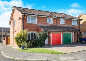 Thumbnail 3 bed semi-detached house for sale in Cornflower Close, Weymouth