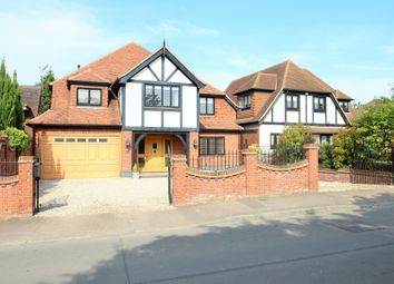 Thumbnail 6 bed detached house for sale in New Farm Drive, Abridge, Romford
