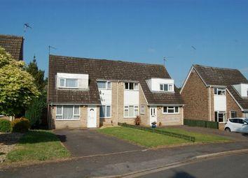 Thumbnail 3 bedroom semi-detached house for sale in Barnstaple Close, Abington Vale, Northampton