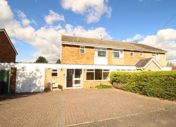 Thumbnail 3 bed semi-detached house to rent in Lime Close, Wickham Market, Woodbridge