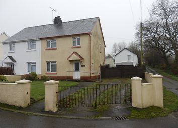 Thumbnail 3 bed semi-detached house for sale in 1 Bro Hafan, Cross Inn, Nr New Quay