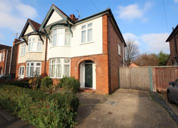Thumbnail 3 bed semi-detached house for sale in Cecil Road, Dogsthorpe, Peterborough