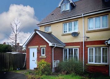 Thumbnail 4 bedroom end terrace house for sale in Sentinel Court, Fairwater, Cardiff