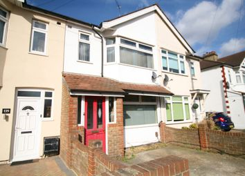 Thumbnail 3 bed terraced house to rent in Upminister Road South, Rainham