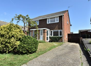 Thumbnail 2 bed semi-detached house for sale in Crusader Road, Hedge End, Southampton