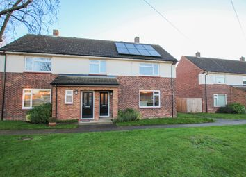 Thumbnail 2 bedroom semi-detached house for sale in Dowding Avenue, Waterbeach, Cambridge