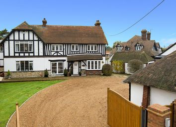 Thumbnail 6 bed detached house for sale in Chestfield Road, Chestfield, Whitstable