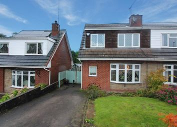 Thumbnail 3 bed semi-detached house for sale in Coniston Drive, Cheadle, Stoke-On-Trent