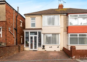 Thumbnail 3 bed semi-detached house for sale in Battenburg Avenue, North End, Portsmouth
