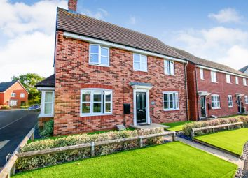Thumbnail 4 bed detached house for sale in Cheviot Walk, Long Lawford, Rugby