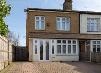 Thumbnail 3 bedroom end terrace house for sale in Drummond Avenue, Romford, Essex