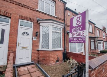 Thumbnail 2 bed terraced house for sale in Burton Avenue, Doncaster
