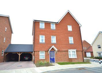 Thumbnail 3 bedroom semi-detached house to rent in Mercer Avenue, Castle Hill, Ebbsfleet Valley, Swanscombe