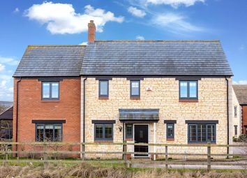 Thumbnail 4 bed detached house for sale in Berrystead, Castor, Peterborough