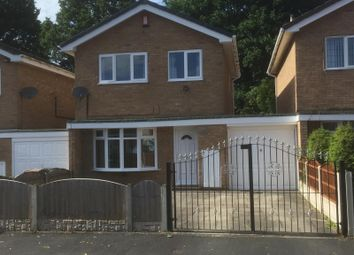 Thumbnail 3 bed detached house to rent in Wetherby Road, Stoke-On-Trent