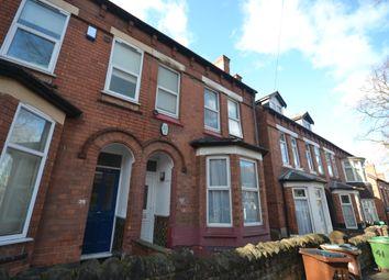 Thumbnail 1 bedroom terraced house to rent in Albert Grove, Nottingham
