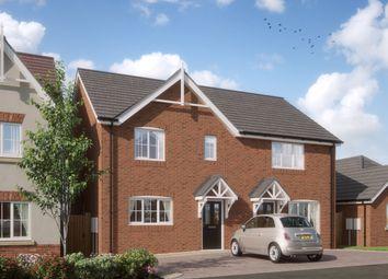 Thumbnail 3 bedroom semi-detached house for sale in Waverton Meadows, Barn End Road, Warton, Tamworth
