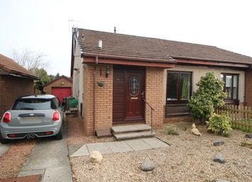 Thumbnail 2 bed semi-detached bungalow for sale in Broomknowe, Cumbernauld, Glasgow