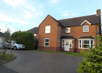 Thumbnail 4 bed detached house to rent in Swift Way, Brackley