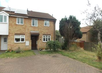 Thumbnail 2 bedroom terraced house to rent in Brightwell Close, Felixstowe