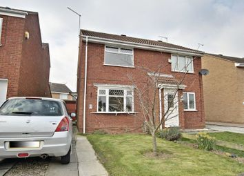 Thumbnail 2 bed semi-detached house for sale in Duncombe Court, Hedon, Hull