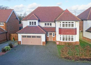 Thumbnail 4 bed detached house for sale in The Furrows, Crawley Down, Crawley