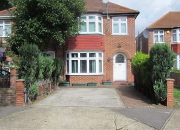 Thumbnail 3 bed semi-detached house for sale in Avenue Close, Cranford