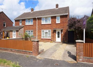 Thumbnail 2 bed semi-detached house for sale in Poplar Way, Ringwood