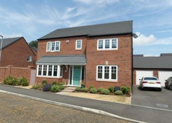 Thumbnail 4 bed detached house for sale in Coronet Drive, Ibstock