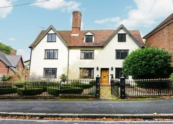 Thumbnail 5 bed detached house for sale in The Green, Wethersfield, Braintree