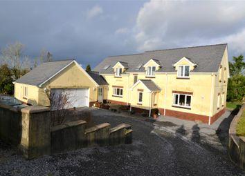Thumbnail 4 bed detached house for sale in Trelech, Carmarthen