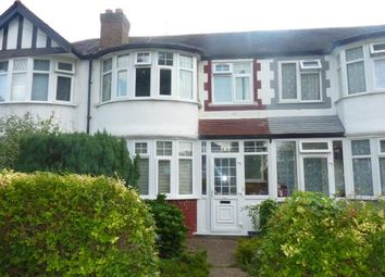 Thumbnail 3 bed terraced house for sale in Thames Avenue, Perivale, Greenford, Middlesex