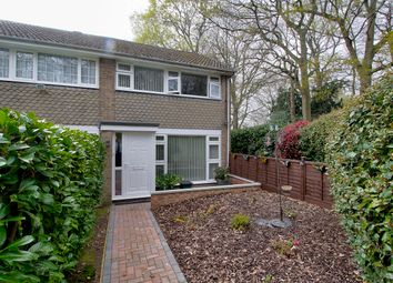 Thumbnail 3 bedroom end terrace house for sale in Plover Close, Southampton