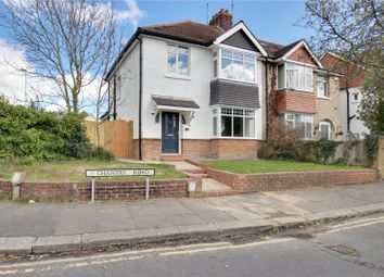 Thumbnail 3 bed semi-detached house for sale in Chantry Road, Worthing, West Sussex