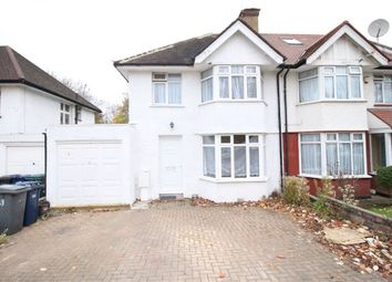 Thumbnail 4 bed semi-detached house to rent in Farm Road, Edgware, Middlesex