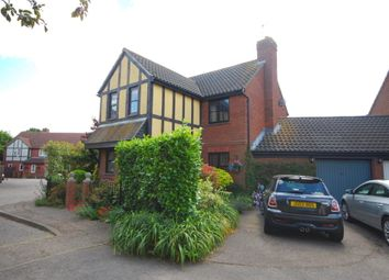 Thumbnail 4 bed detached house for sale in Palmers Croft, Chelmer Village, Chelmsford