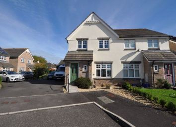 Thumbnail 3 bed semi-detached house for sale in St. Columba Close, Kingsteignton, Newton Abbot