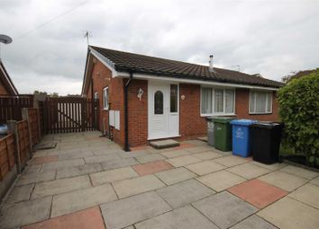 Thumbnail 2 bed semi-detached bungalow for sale in Nursery Road, Urmston, Manchester