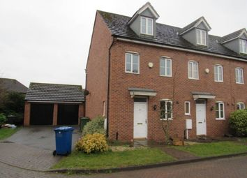 Thumbnail 3 bed town house to rent in Maple Drive, Sudbrooke, Lincoln