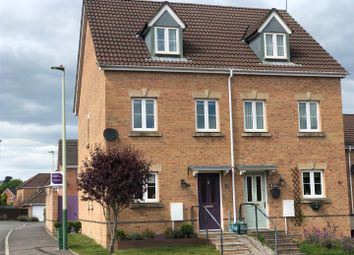 Thumbnail 3 bed semi-detached house for sale in Dulas Island Close, Caerphilly