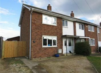 Thumbnail 3 bed semi-detached house for sale in Church Close, Stilton, Peterborough, Cambridgeshire