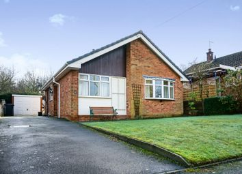 Thumbnail 2 bed detached bungalow for sale in Deepdale Close, Burton-On-Trent