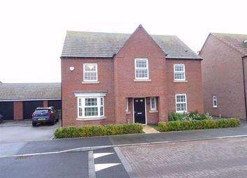 Thumbnail 4 bed detached house for sale in Forest House Lane, Leicester Forest East, Leicestershire
