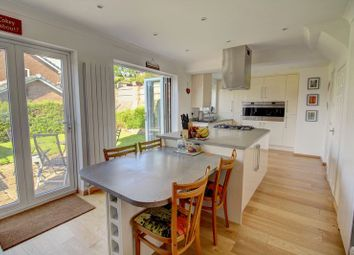 Thumbnail 4 bed detached house for sale in The Croft, Hadfield, Glossop